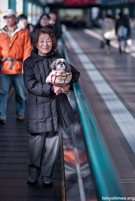 Tokyo dog owner
