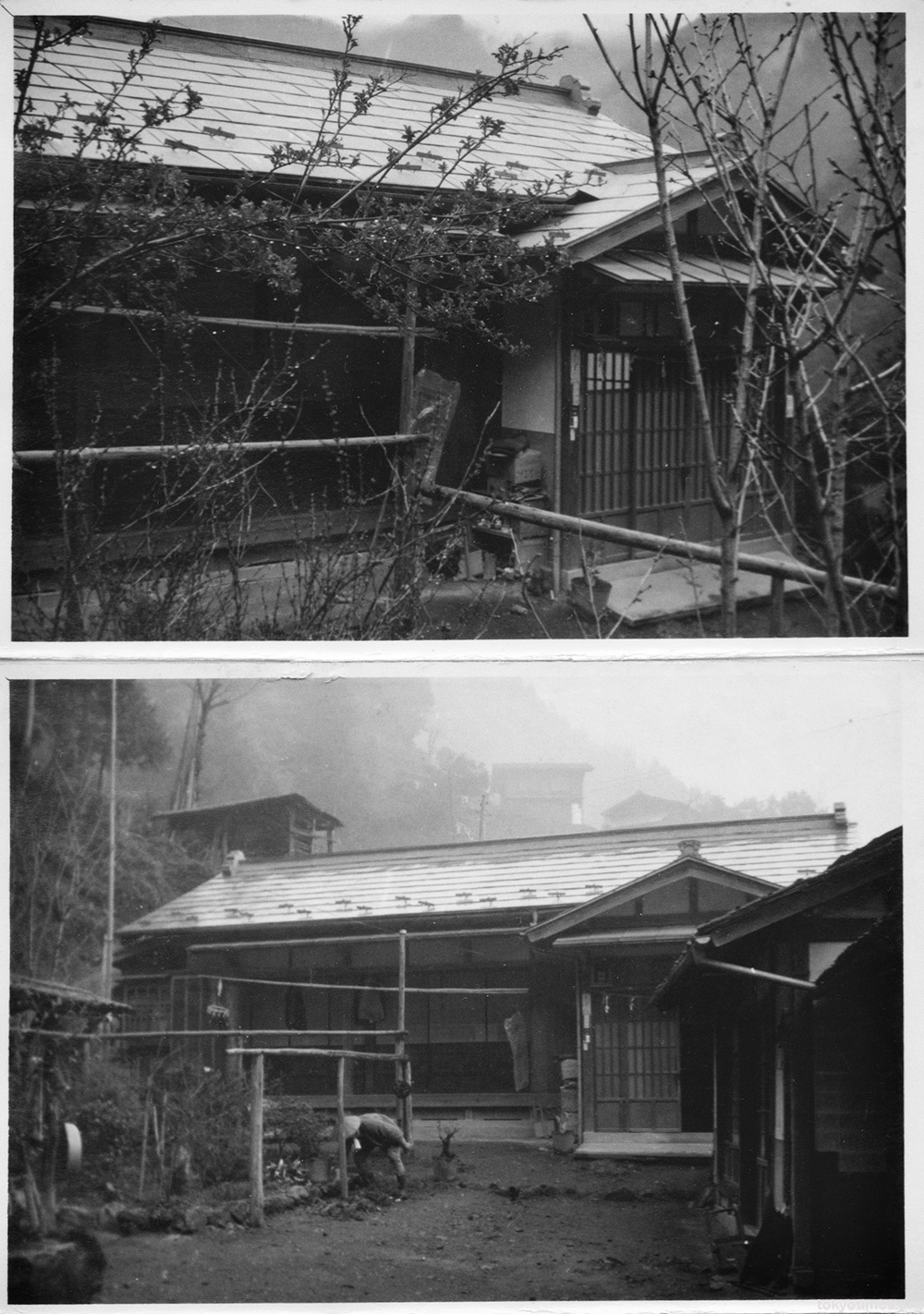 abandoned Japanese home