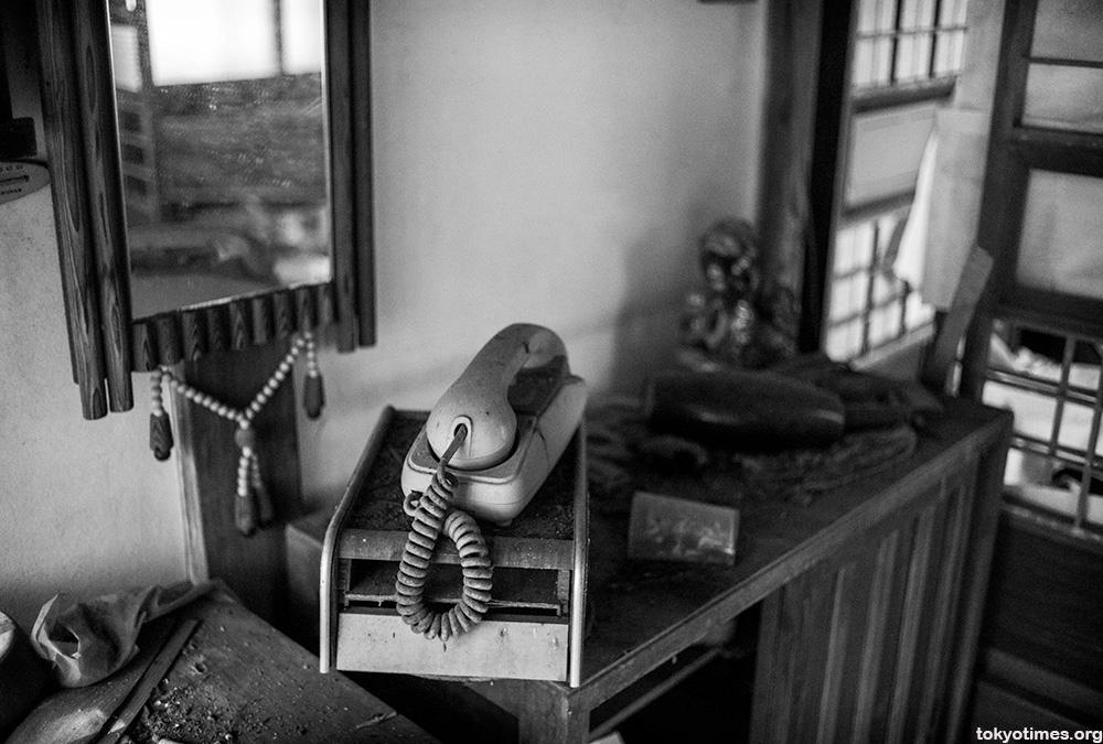 abandoned Japanese home
