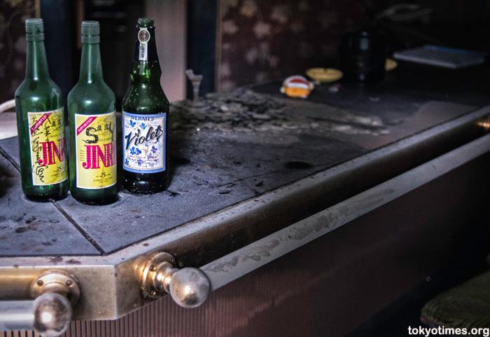 abandoned Japanese karaoke bar