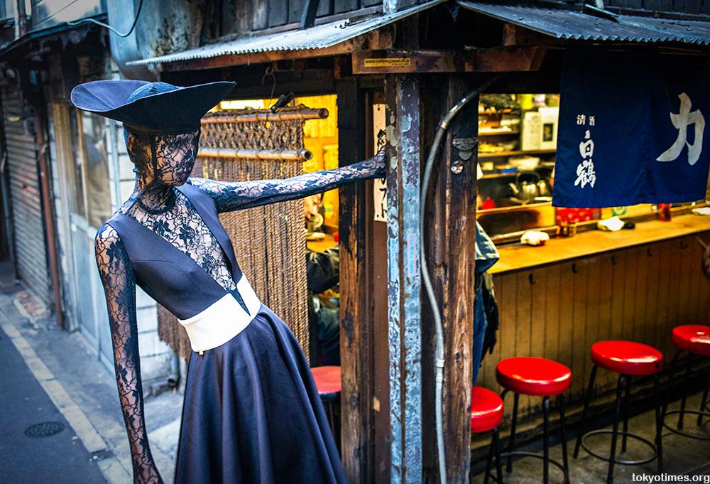 alluring Tokyo fashion shot