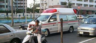 Japanese ambulance