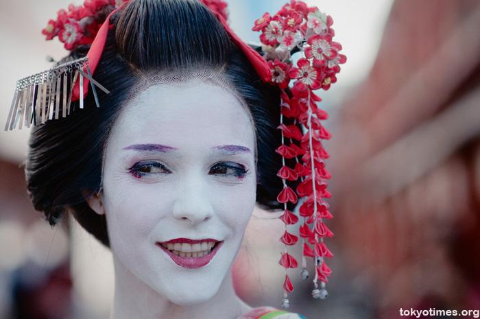 foreign geisha/maiko