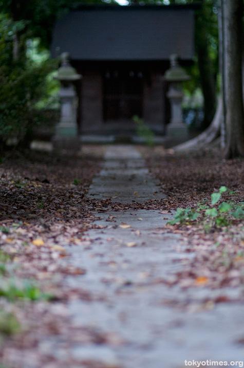 Tokyo shrine in Autumn