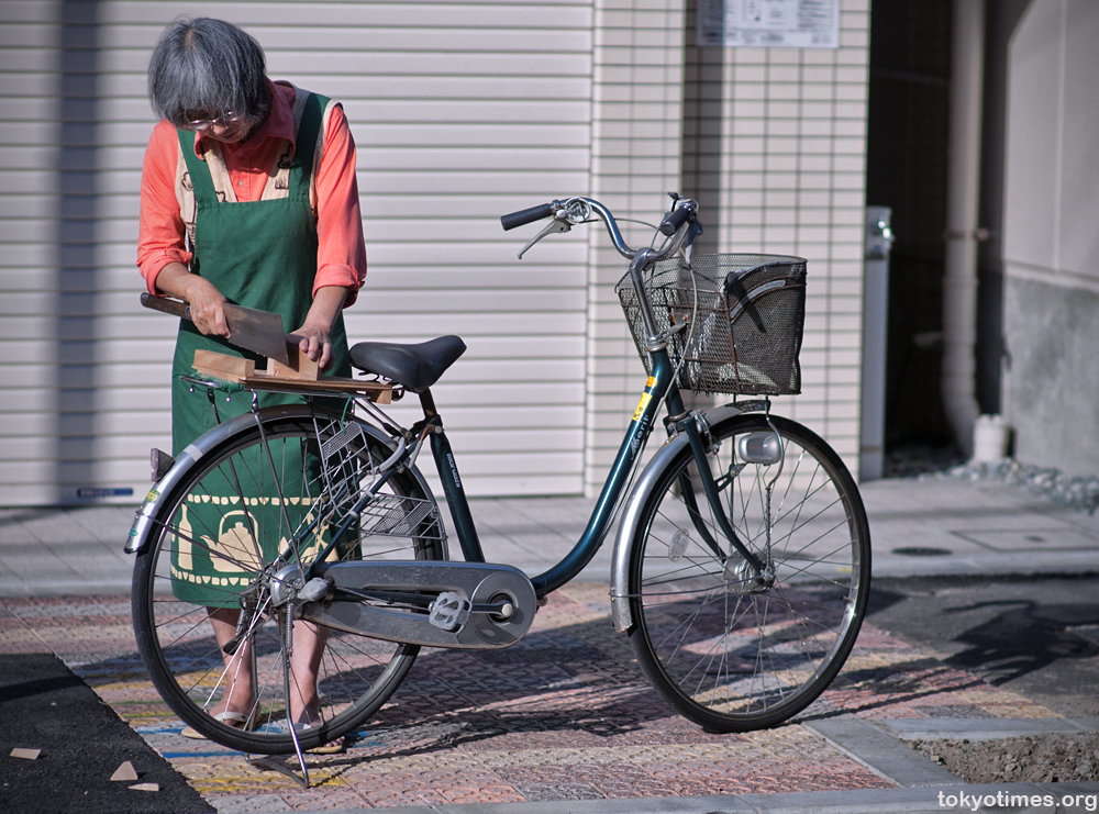 A Japanese bike that's both a way to get around and a