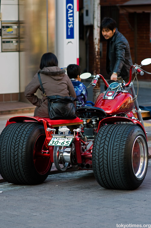 Big Japanese motorbike