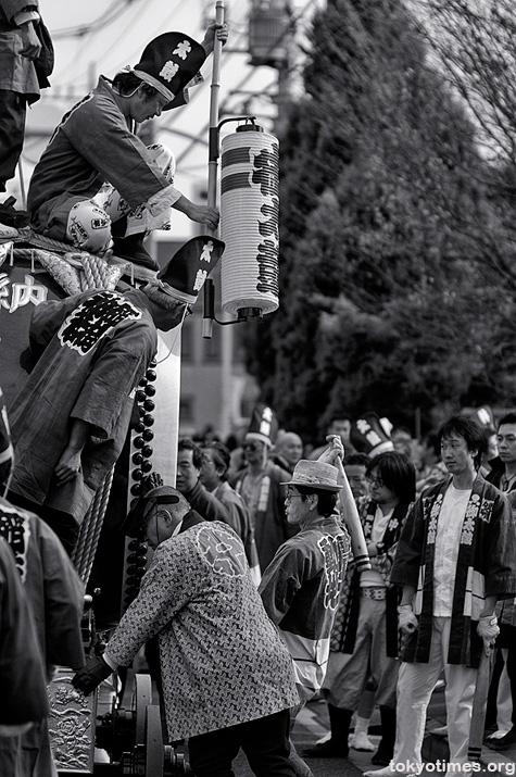 Japanese festival taiko