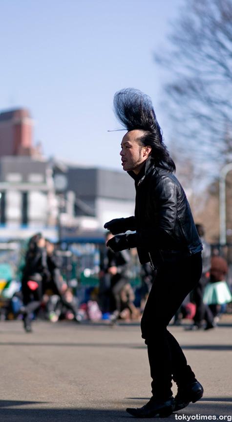 Tokyo hairstyle/quiff