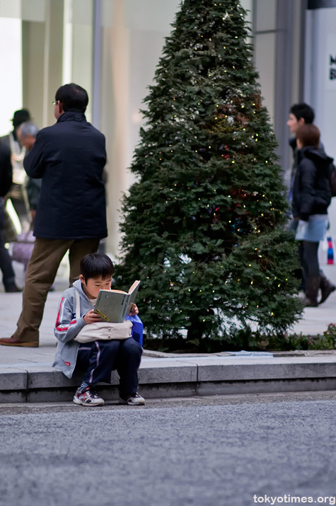 reading in Tokyo
