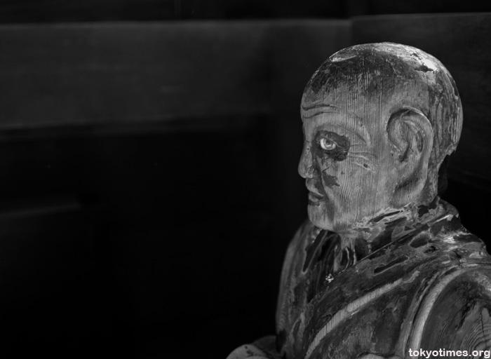 scary Buddhist statue