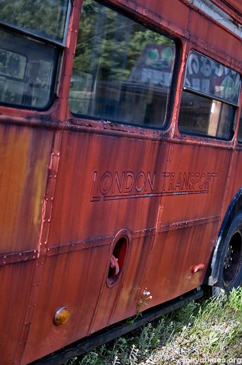Japanese double-decker bus