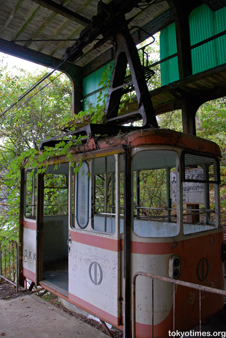 Okutama cable car haikyo