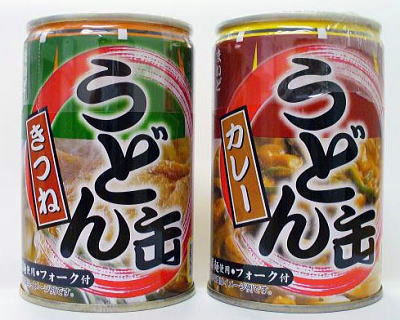 Japanese udon in a can