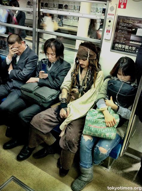 Captain Jack Sparrow in Tokyo