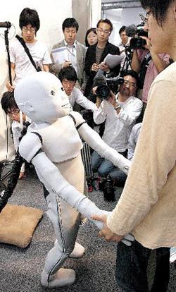 Japanese robot baby CB2
