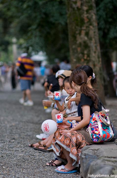 small Japanese festival kid