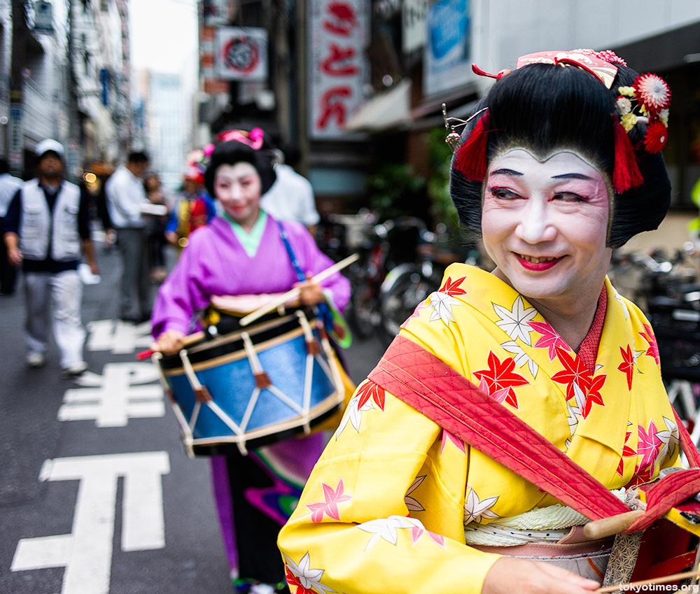 Chindonya Japanese advertising