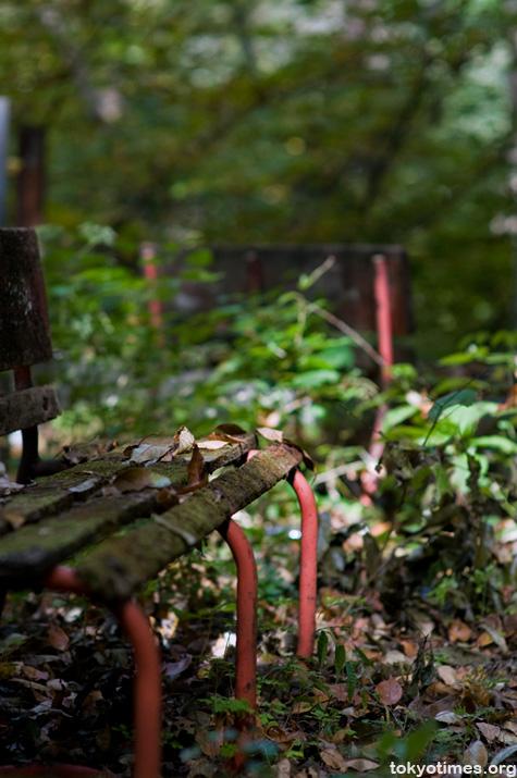 Japanese abandoned building