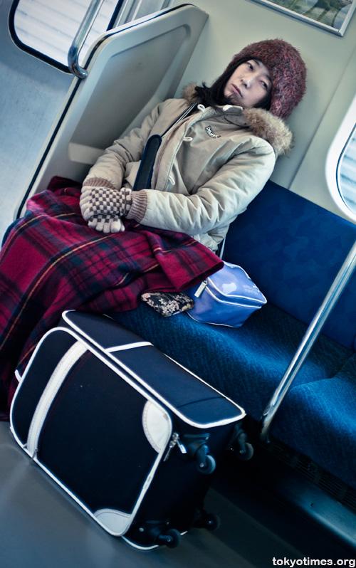 Japanese train journey