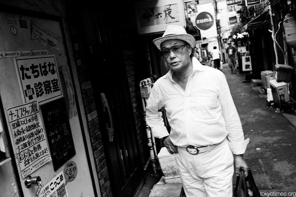 retro Japanese man