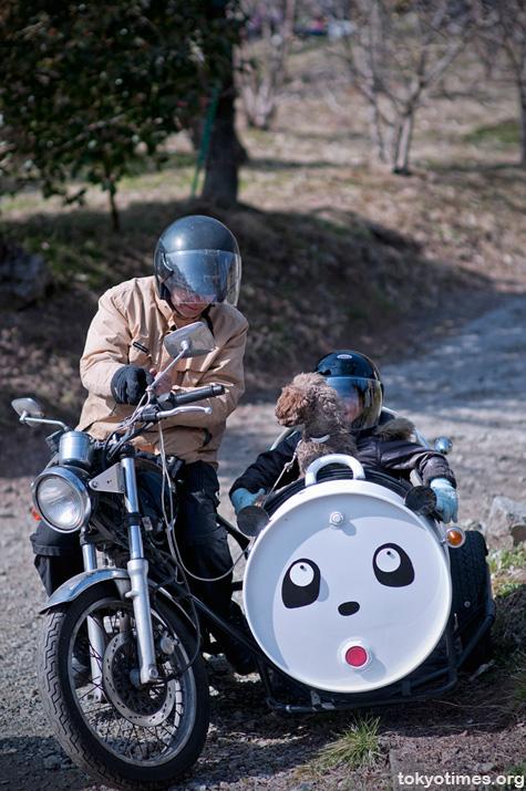 cute Japanese sidecar