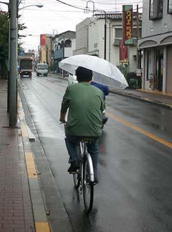 cyclist japan