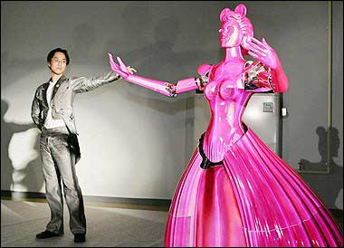 dancing robot japan