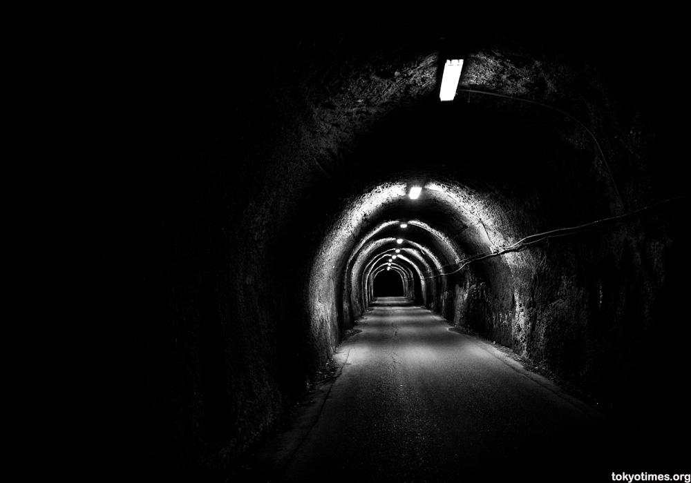 Japanese dark tunnel