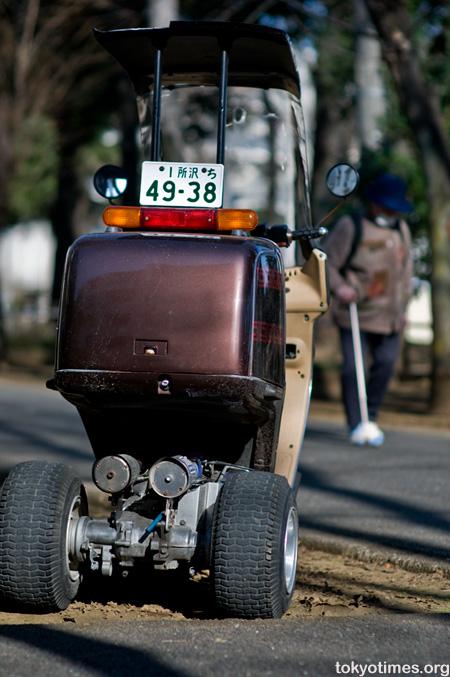 Tokyo delivery bike