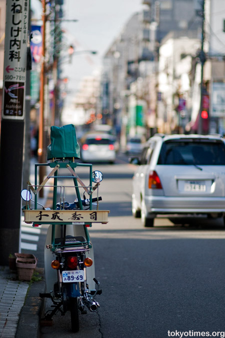Tokyo delivery bike