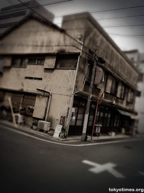 grim Tokyo building