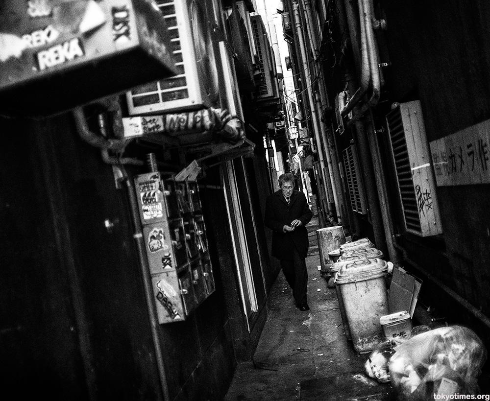 Tokyo alley salary man