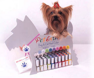dog nail varnish