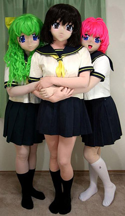 manga like japanese schoolgirls