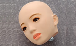 latex doll head