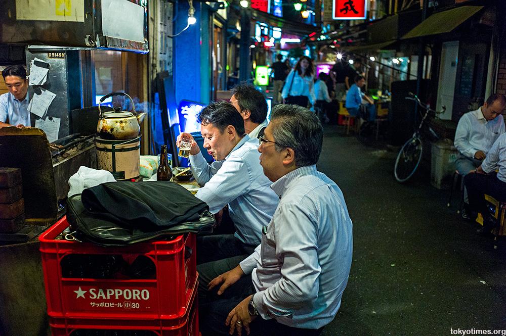Tokyo salarymen drinkers