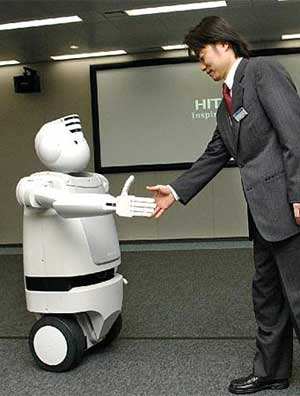 japanese robot emiew