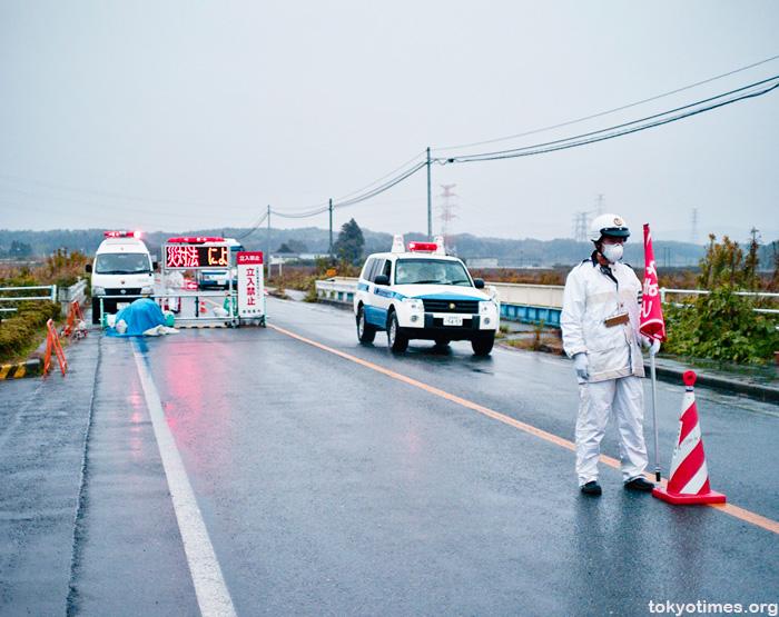 Minami Soma exclusion zone checkpoint