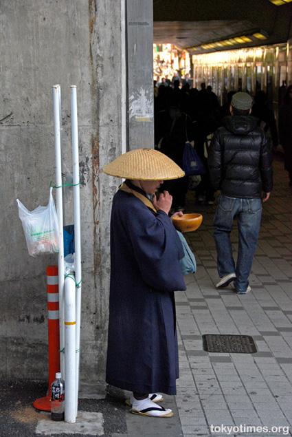 Japanese monk