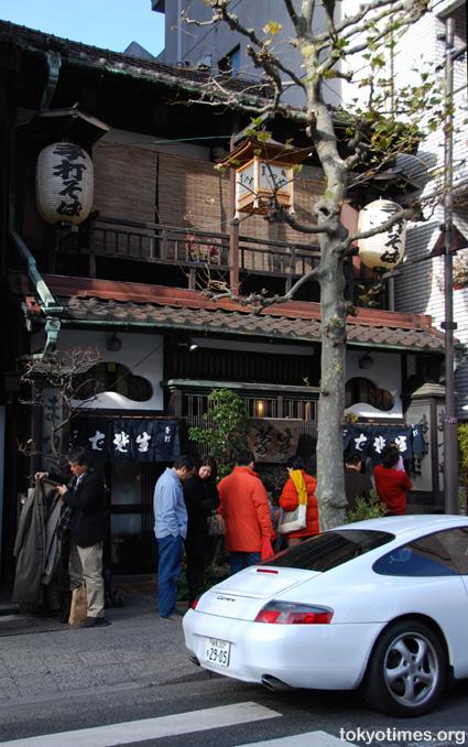 Tokyo soba restaurant