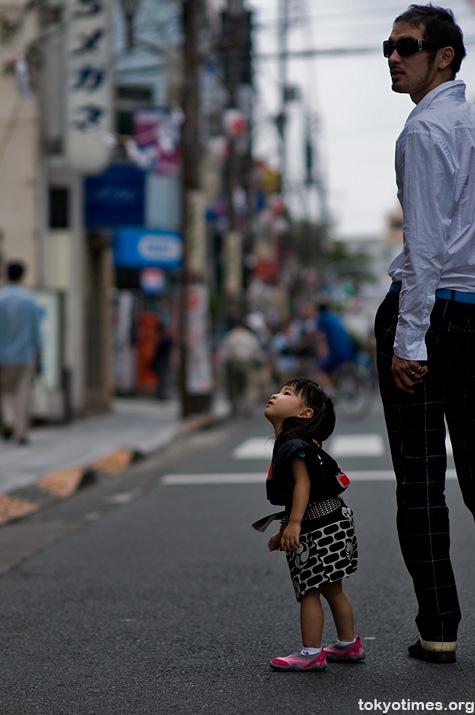 Japanese festival girl