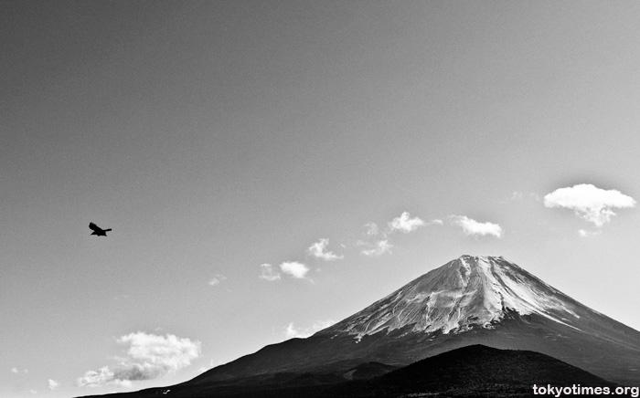 Mount Fuji in winter