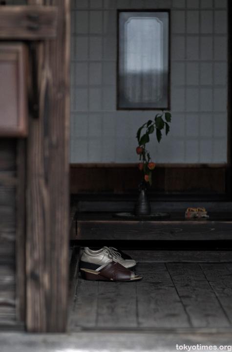 Japanese house entrance