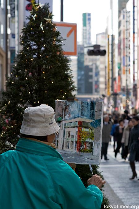 Ginza at Christmas