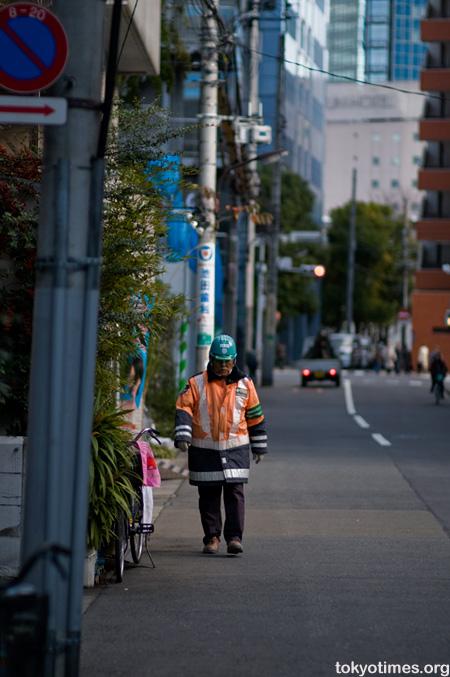 Japanese worker