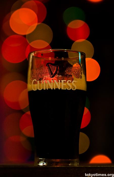 Guinness bokeh