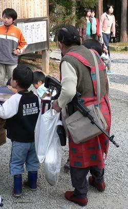 gun loving japanese granny