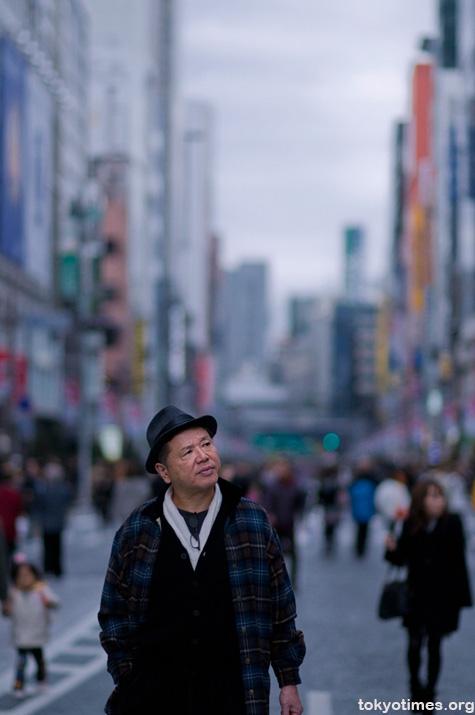 Japanese hat fashion