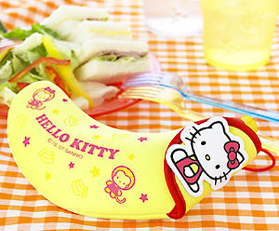 Japanese hello kitty banana case