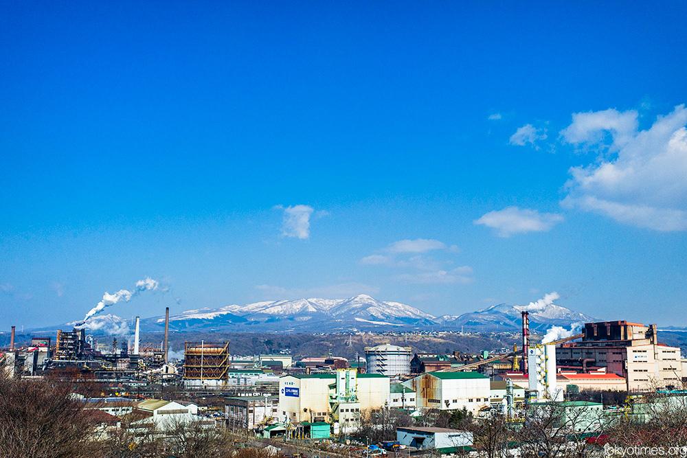 Hokkaido scenery and steel